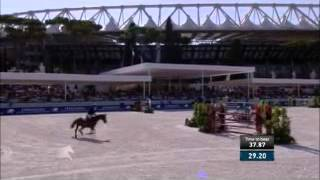 Comme Il Faut & Marcus Ehning - Barrage - Longines Global Champions Tour Rome 2015