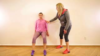 Postpartum Workout  5 exercises for after a C section