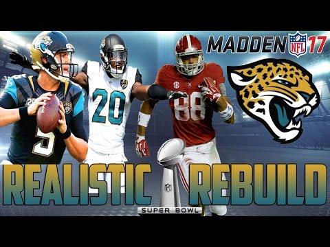 Madden 17 Connected Franchise | Realistic Rebuild: Jacksonville Jaguars | Most OP Team YET!