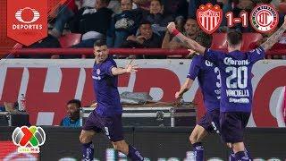 Resumen Necaxa 1 - 1 Toluca | Clausura 2019 - J10 | Televisa Deportes