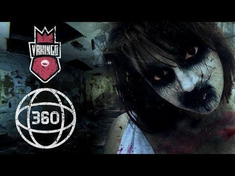 DEMONIC BALLERINA IN THE ASYLUM • Проклятая Балерина • 360 Ужасы • Horror 360 VR Video