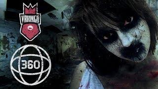 DEMONIC BALLERINA IN THE ASYLUM • Проклятая Балерина • 360 Ужасы • Horror 360 VR Video (#VRKINGS)