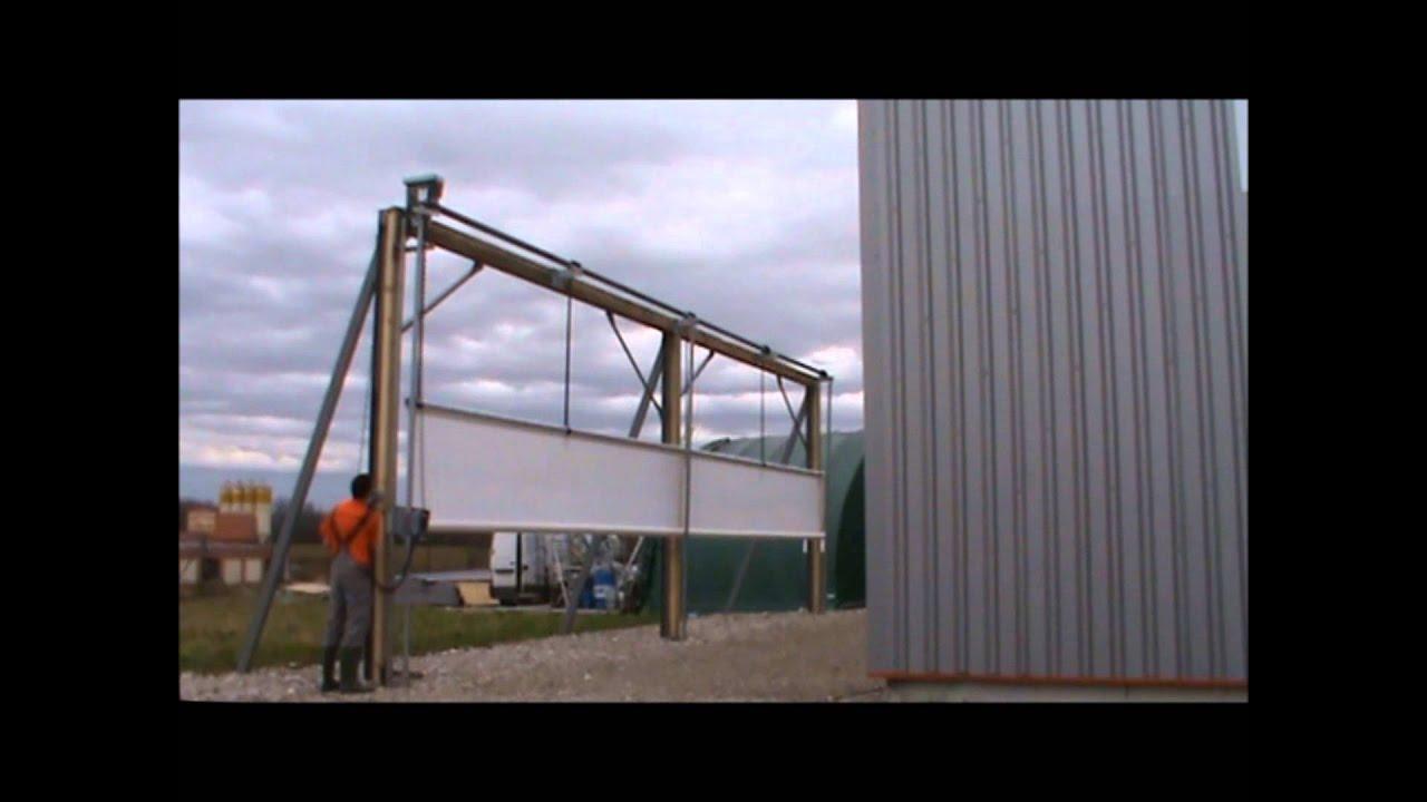 rcy rideaux agricoles rideau abondance youtube - Rideau Coupe Vent Agricole