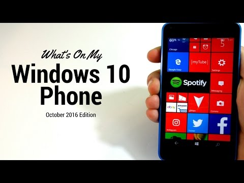 What's on my Windows Phone October 2016?