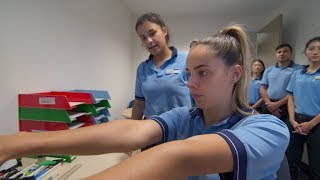 Engaging students for staff ergonomic assessments
