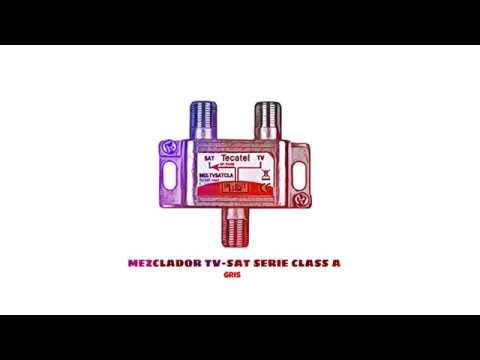 Video de Mezclador TV-SAT serie CLASS A  Gris