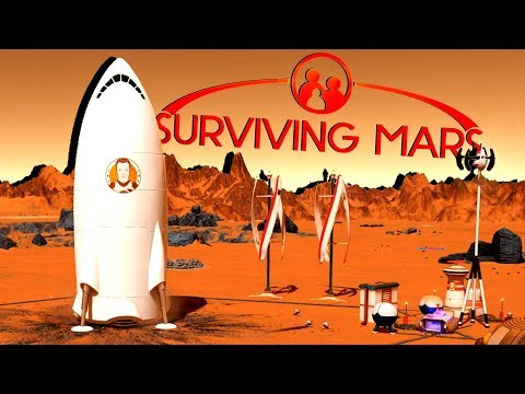 Beginning A New New Life on Mars! - Ep. 1 - Surviving Mars Gameplay