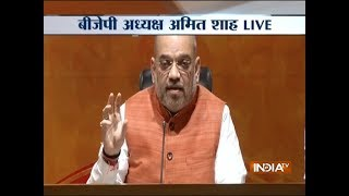 PM ended politics of appeasement, dynasty, ushered politics of development: Amit Shah