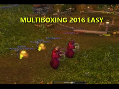 [WoW BFA] Multiboxing Easy Tutorial 8 0 Script Updated