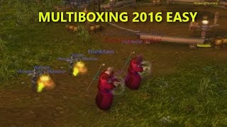 [WoW BFA] Multiboxing Easy Tutorial 8.0 Script Updated