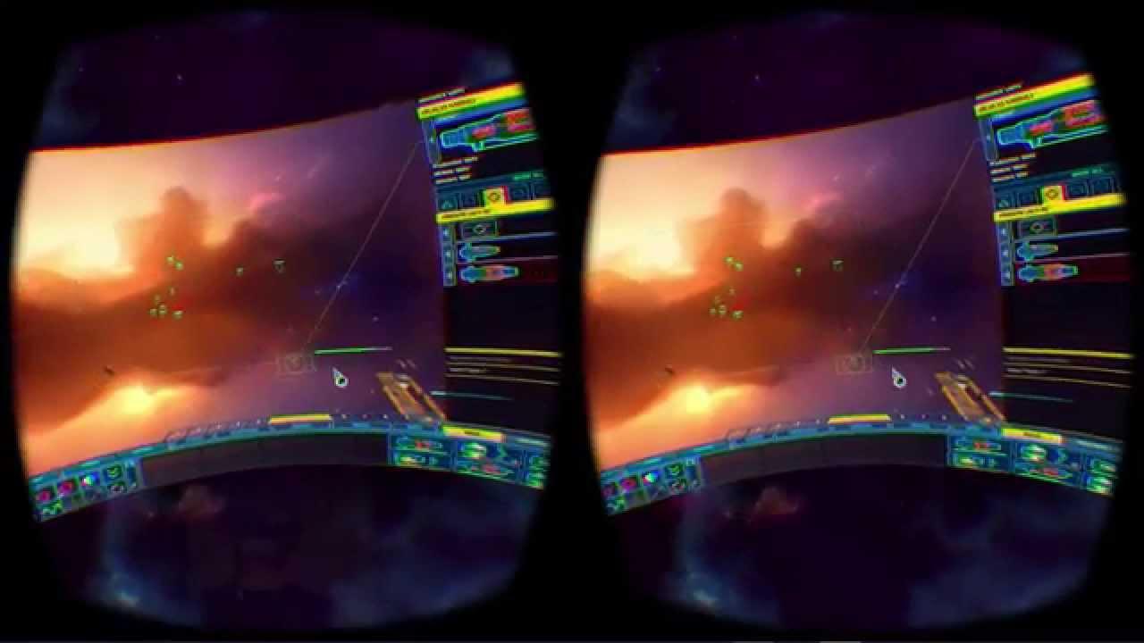 Homeworld 2 Oculus Rift DK2 Virtual Desktop + Positional Tracking