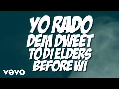 Alkaline - Dutty Badmind (Lyric Video)