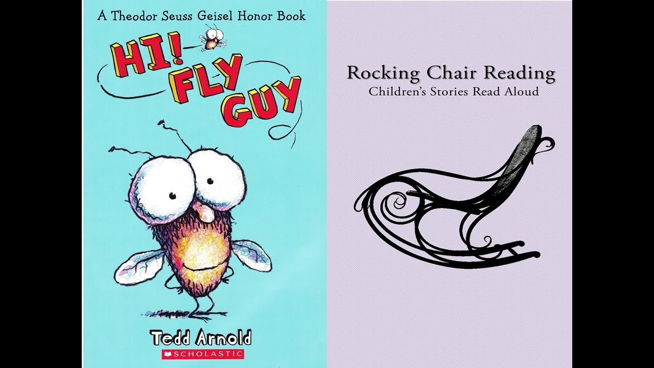Hi! Fly Guy | Books Read Aloud for Kids | Rocking Chair Reading ...