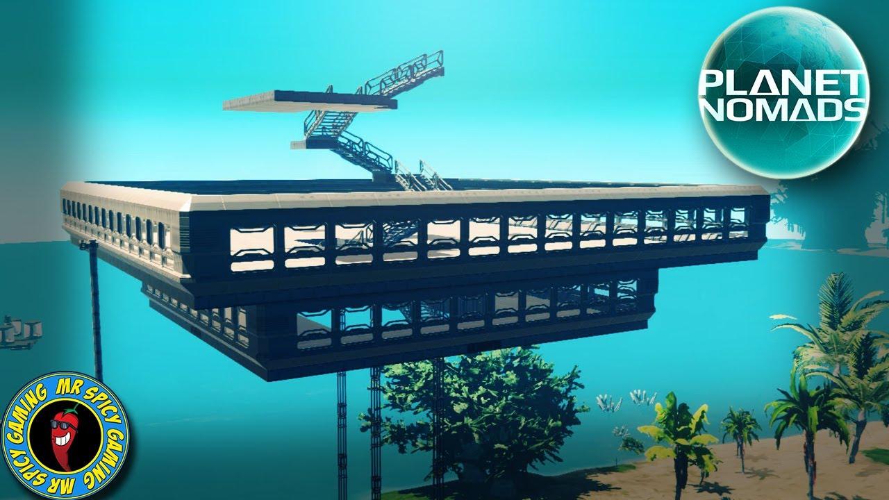 INÍCIO DE UM NOVO PROJETO DE CONSTRUÇÃO MASSIVO - Planet Nomads Gameplay S2 Ep30 + vídeo