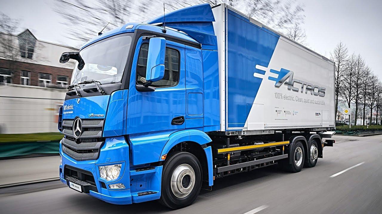 Mercedes Benz Logo 2018 >> All-electric Mercedes-Benz eActros 2018 – Fully Electric ...
