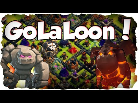 GoLaLoon 3 Sterne Angriff! | CLASH OF CLANS #85 | Golem, Lavahunde & Ballons! (Deutsch / German)