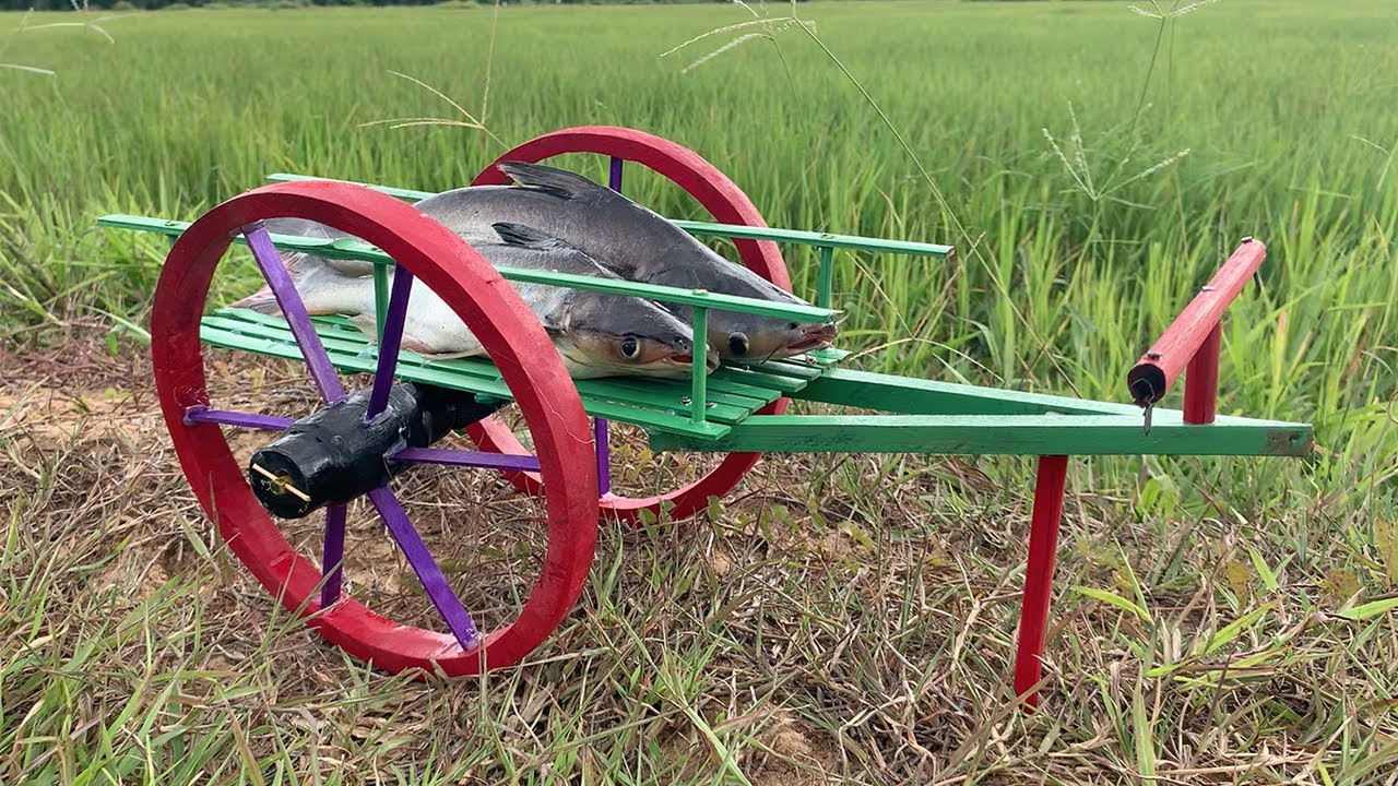 Creative DIY Woodworking - Making Cow Bullock Cart