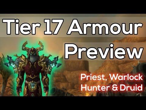 Tier 17 Priest, Hunter, Mythic Warlock & Mythic Druid - Warlords of Draenor