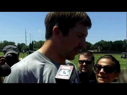 Tight end Dallas Clark on joining Tampa Bay Buccaneers