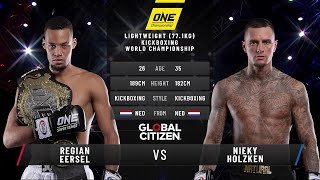 Regian Eersel vs. Nieky Holzken II | Full Fight Replay