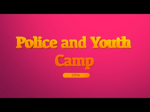 Police and Youth Camp 2016,  Pine Bluff, AR