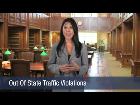 Out Of State Traffic Violations