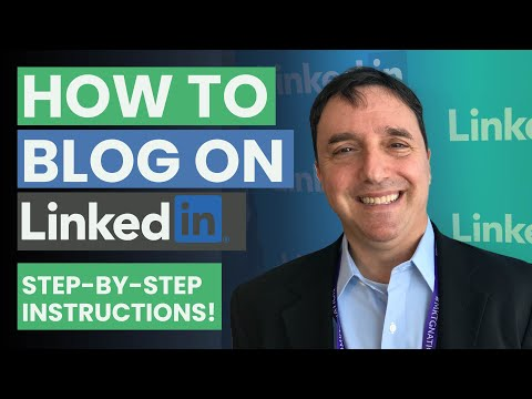 How To Blog on the LinkedIn Publishing Platform by Neal Schaffer