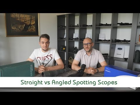 Straight VS Angled Spotting Scope | Optics Trade Debates