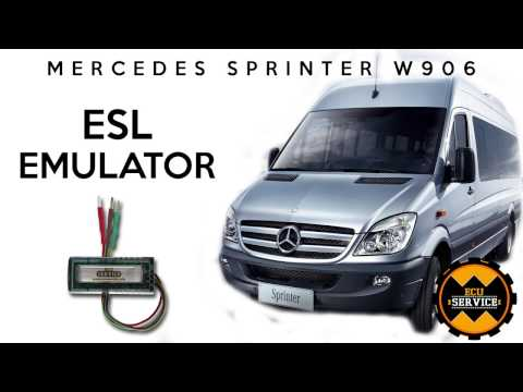 Mercedes Sprinter W906 ESL Emulator