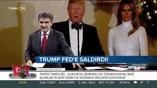 Trump Fed'e Saldırdı! #dünyahali