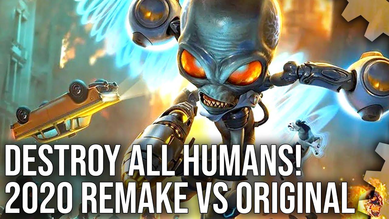 Destroy All Humans! 2020 Remake vs 2005 Original - An Unreal Transformation! [Sponsored]