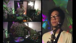 #DISKODIRUMAH  - DJ/Saxophone Virtual Collaboration LIVESTREAM | Self-DISKOlation Session #5