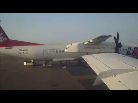 "LAM Mozambique EMB-120 ""Brasilia"" Landing"