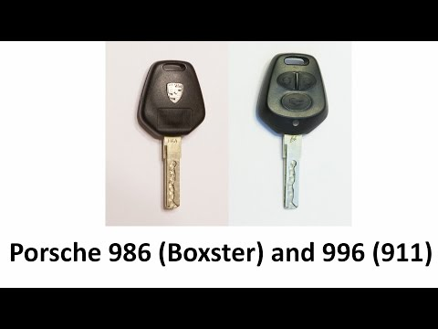 Porsche Boxster 911 Remote Entry Key Transmitter Repair 986 996