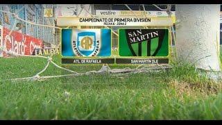 Atl. Rafaela vs San Martin San Ju. full match