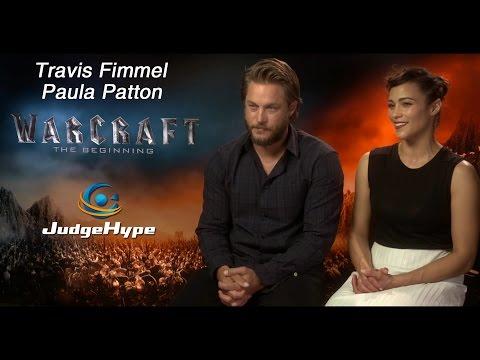 Warcraft: Le Commencement - Interview Travis Fimmel et Paula Patton