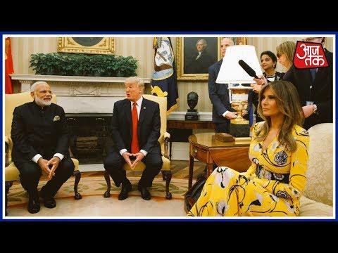 Social Media Flooded With Modi-Trump Meeting