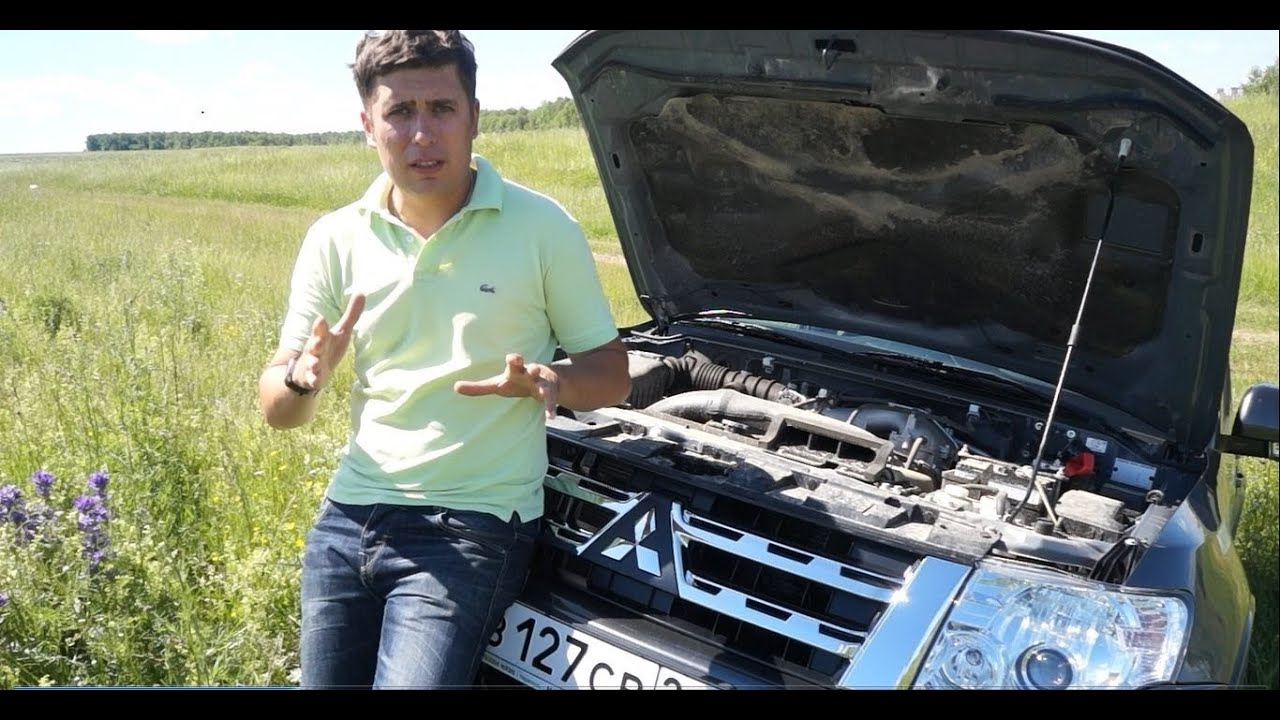 Тест-драйв Mitsubishi Pajero (коротыш) - YouTube