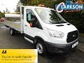 FOR SALE - www.clarkson-commercials.co.uk - 2016 Ford transit 350 EF S/C Dropside with Tail lift