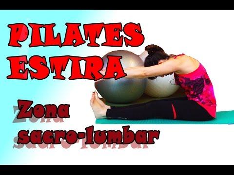 QUITA DOLOR DE LA ESPALDA Y ZONA SACRO-LUMBAR. Estira con pilates.