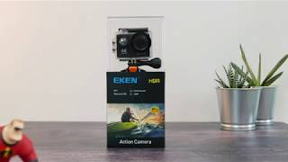 Eken H9R WiFi Action Camera unboxing