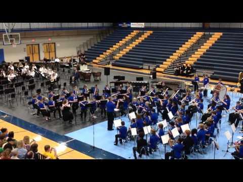 Hard Rock Blues - West Wilson Middle School 6th Grade Band