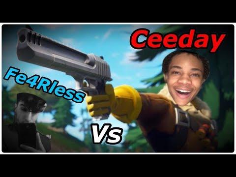 CEEDAY vs FE4RLESS BEST MOMENTS (CEEDAY GOT LIGMA)