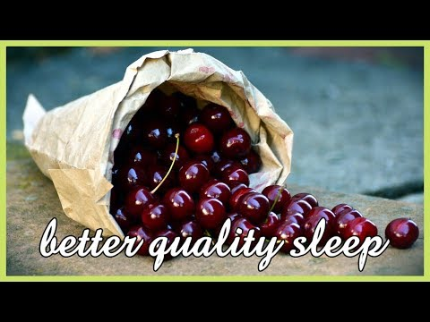Sleep problems? Tart Cherry Juice Gummies Natural Sleep Remedies for Kids and Adults