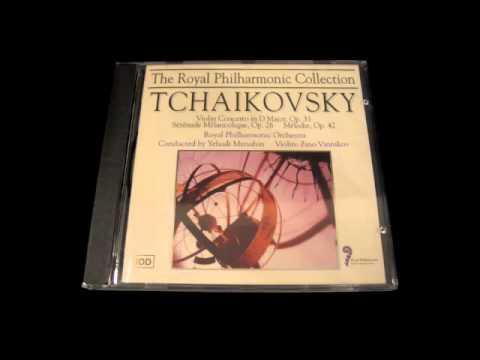 Zino Vinnikov TCHAIKOVSKY Violin Concerto