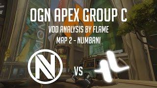vod analysis envyus vs lunatic hai ogn apex group c map 2 numbani