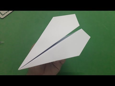 How to make a paper airplane easy (classic model plane) | #5