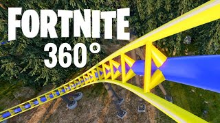 360° Video | Fortnite Roller Coaster 360 VR Playstation Virtual Reality Nintendo Switch VR