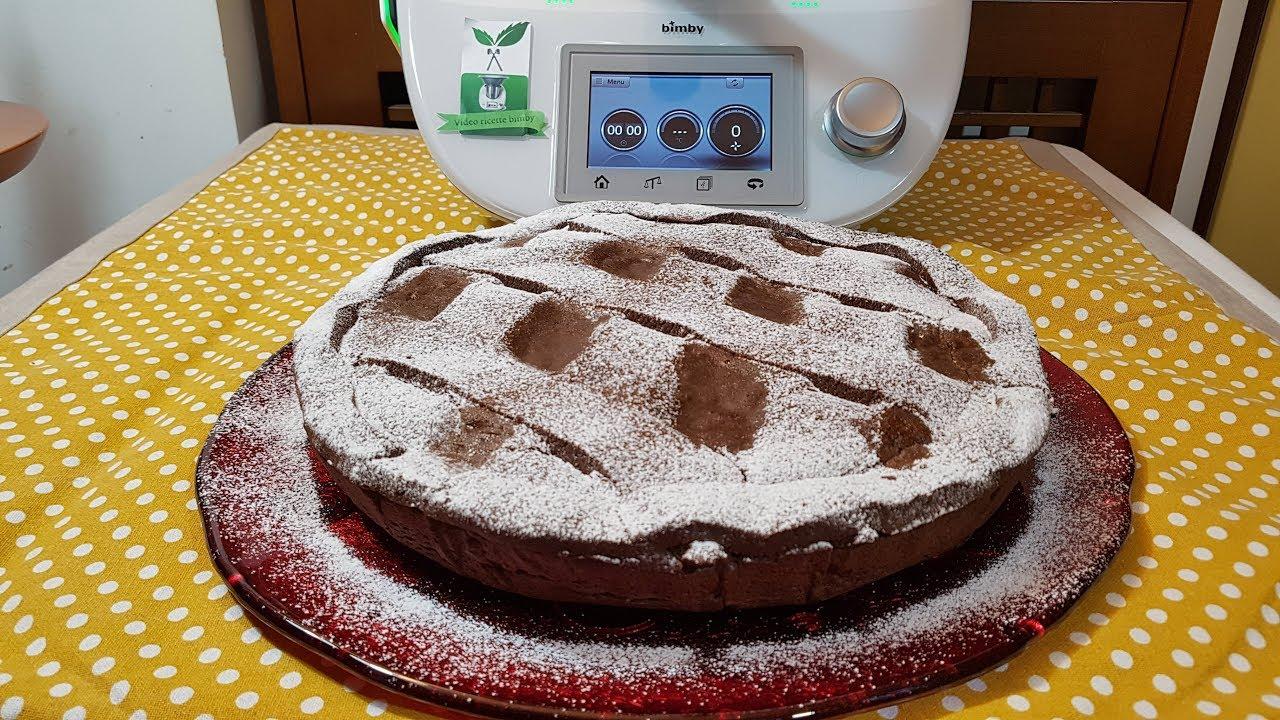 Pastiera Al Cioccolato Con Frolla Al Cacao Bimby Per Tm5 E Tm31