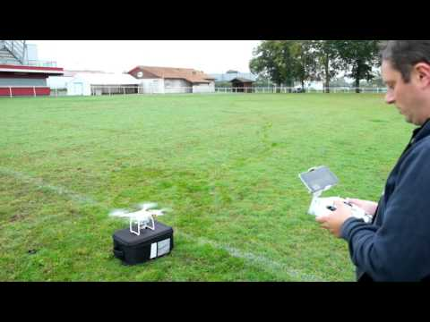 DJI phantom 3 standard first flight